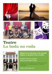 Cartell teatre 2nESO