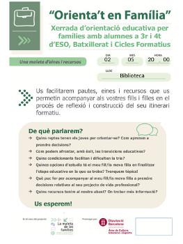Comunicacio a les families_xerrades